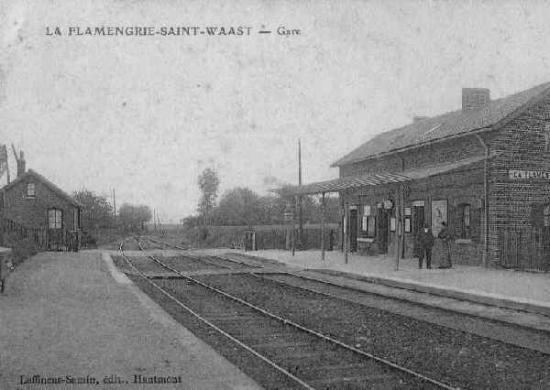Gare de la Flamengrie